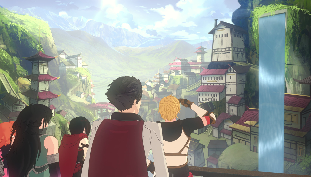 rwby volume 5  talking new trailer  themes and more with miles luna and barbara dunkelman