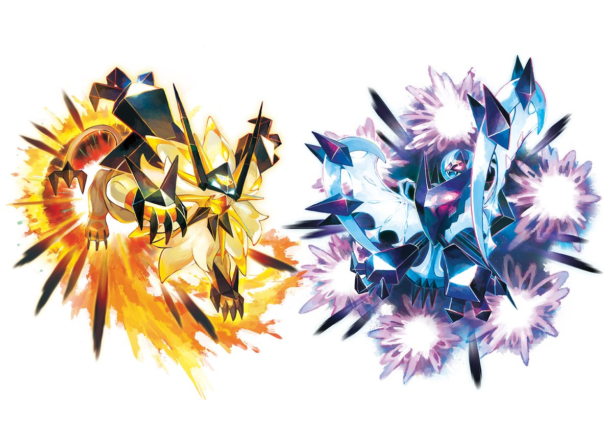 Pok 233 Mon Ultra Sun And Moon Trailer Shows Necrozma Z Moves