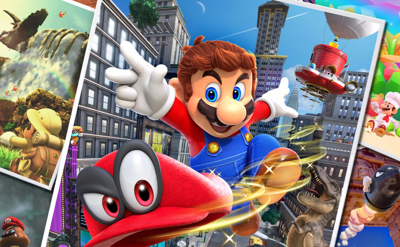 Super Mario Odyssey Is More Fun With Two Players Player One