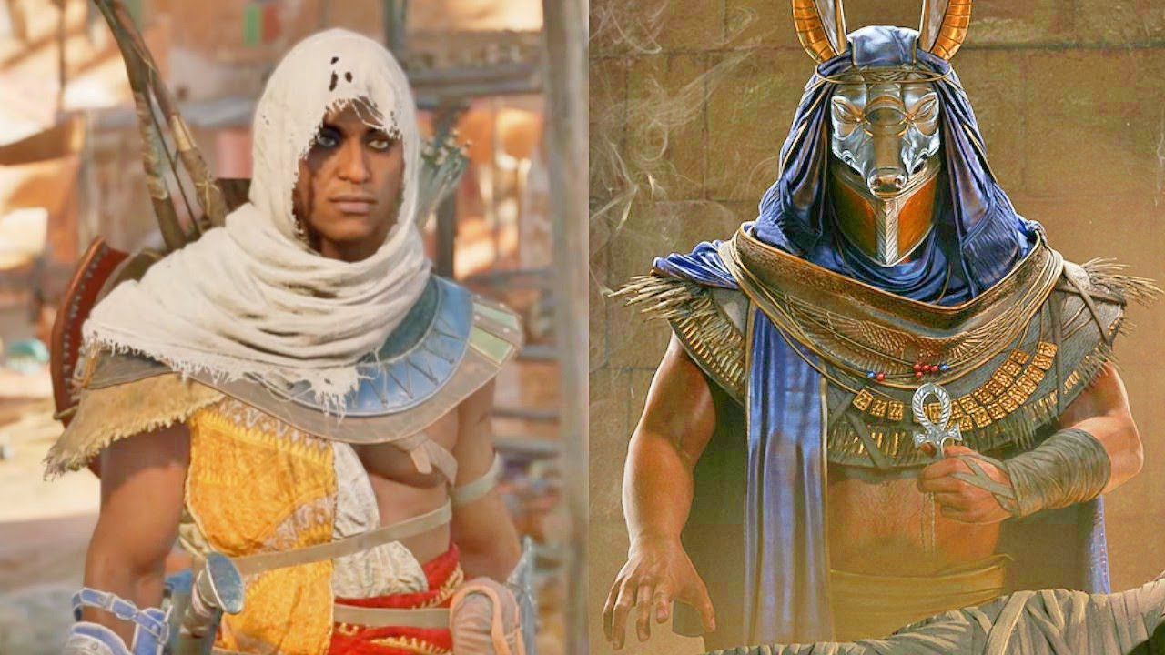 assassins creed origins outfits list