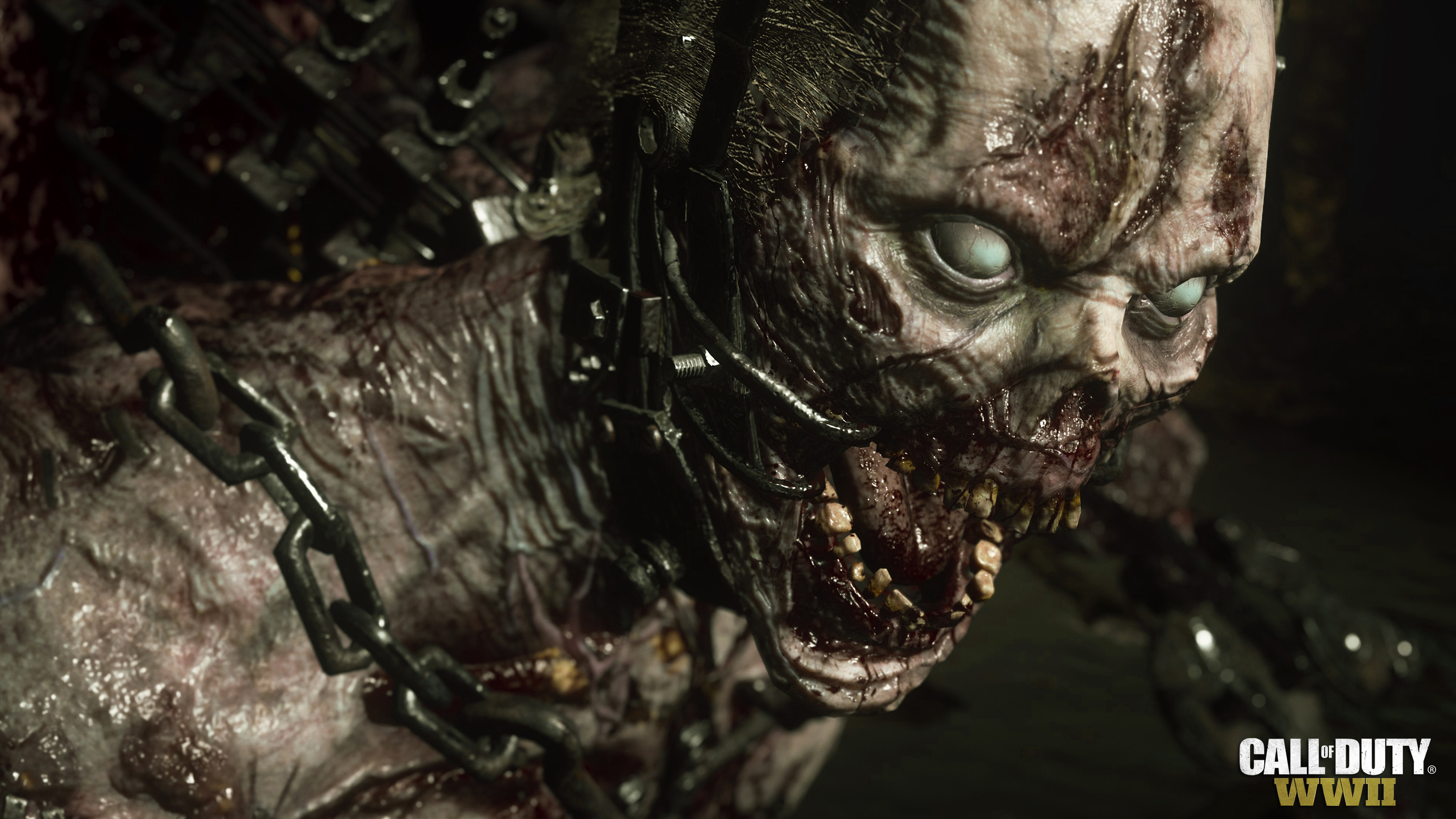 call of duty ww2 zombies wallpaper