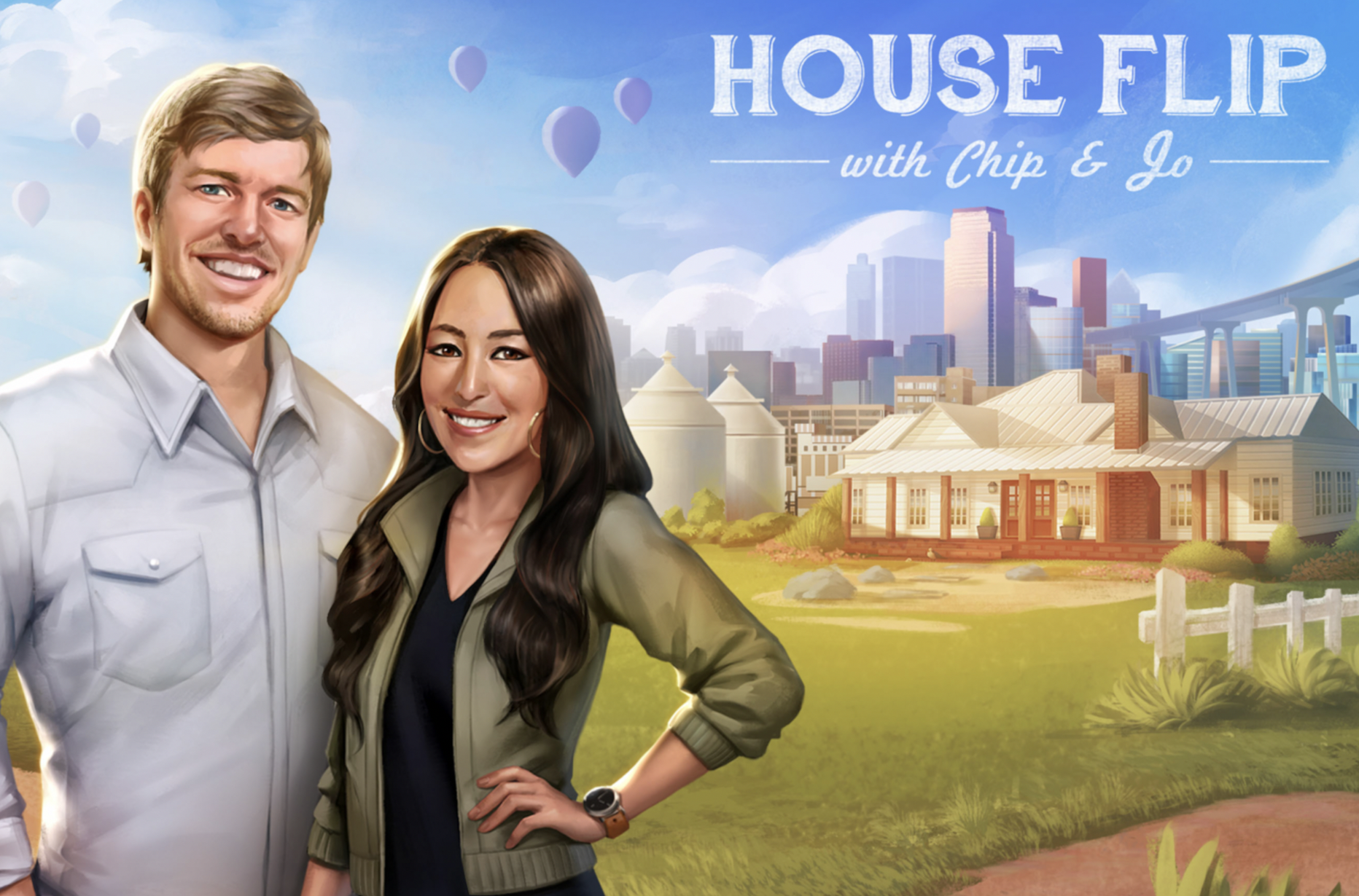 chip joanna gaines have their own house flipping game but unfortunately it 39 s a flop player one. Black Bedroom Furniture Sets. Home Design Ideas