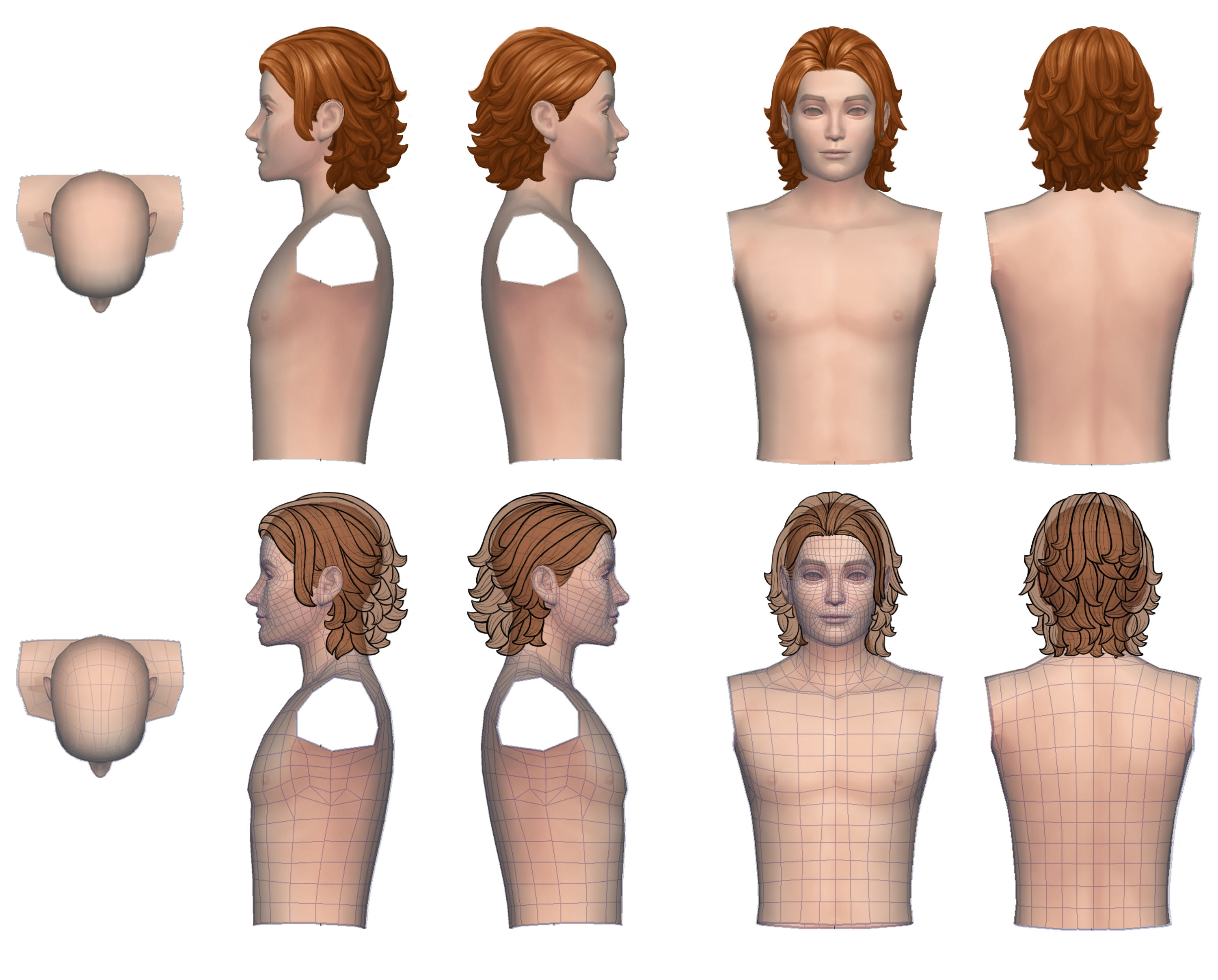 How To Add Hair Highlights In Sims 4 Hair Images Superbowlodds
