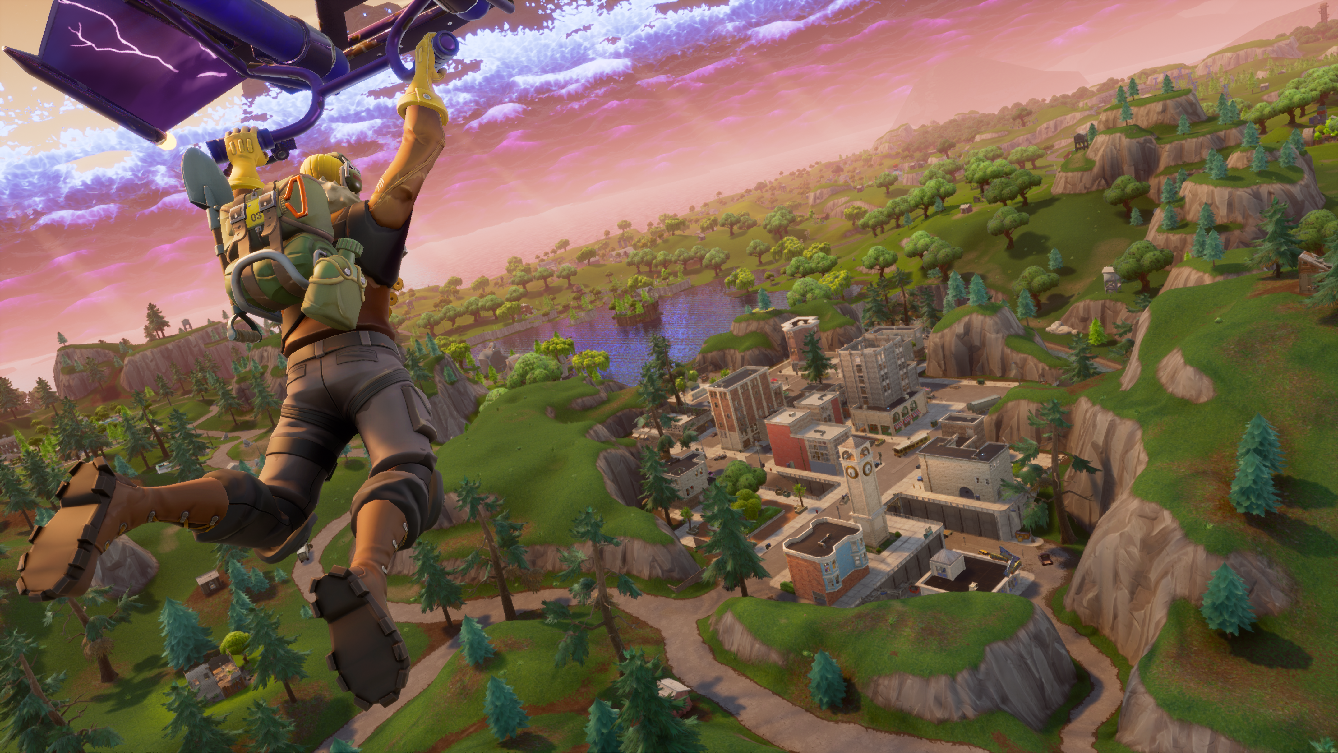 how to leave a party in fortnite pc