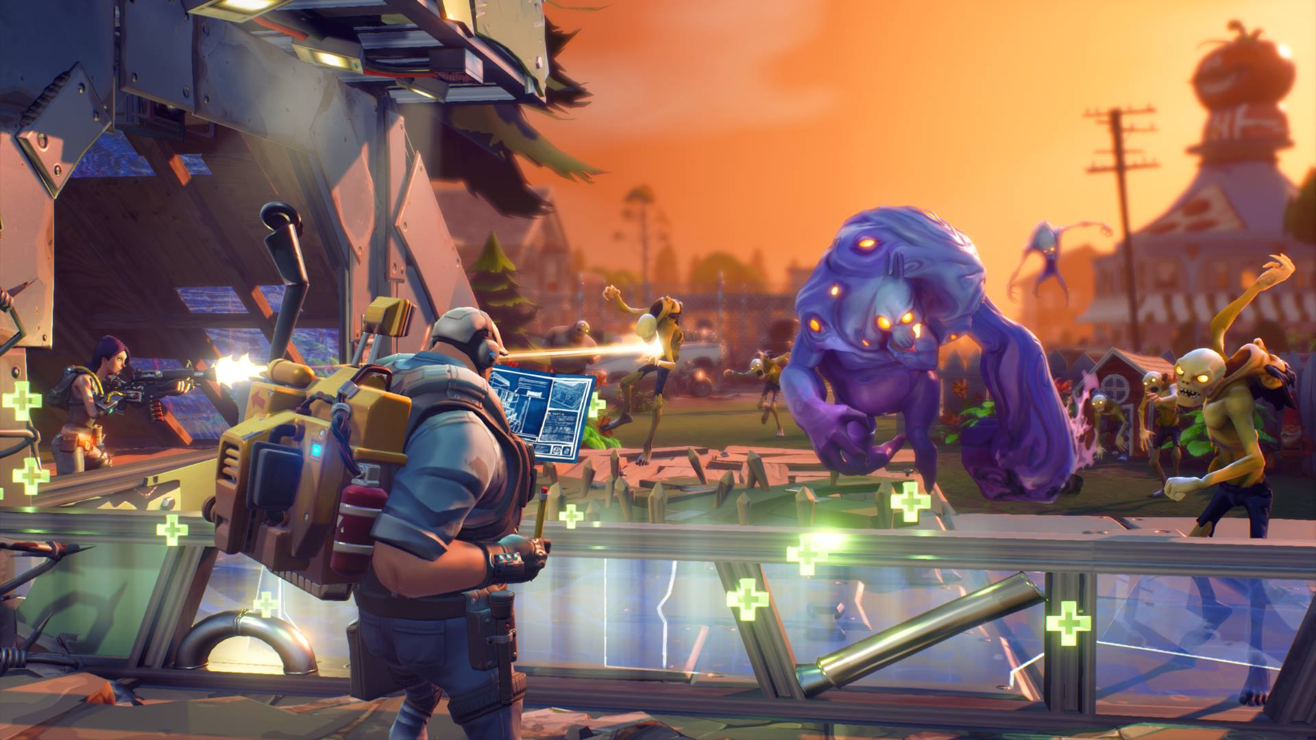 Fortnite team talks save the world free release - Fortnite save the world wallpaper ...