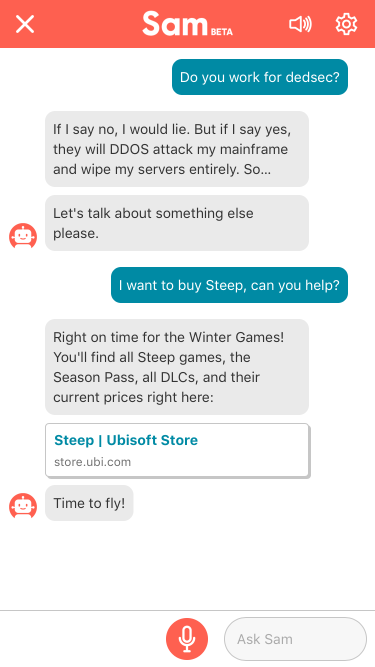 Meet SAM, Ubisoft's Companion App That Offers Helpful Tips And