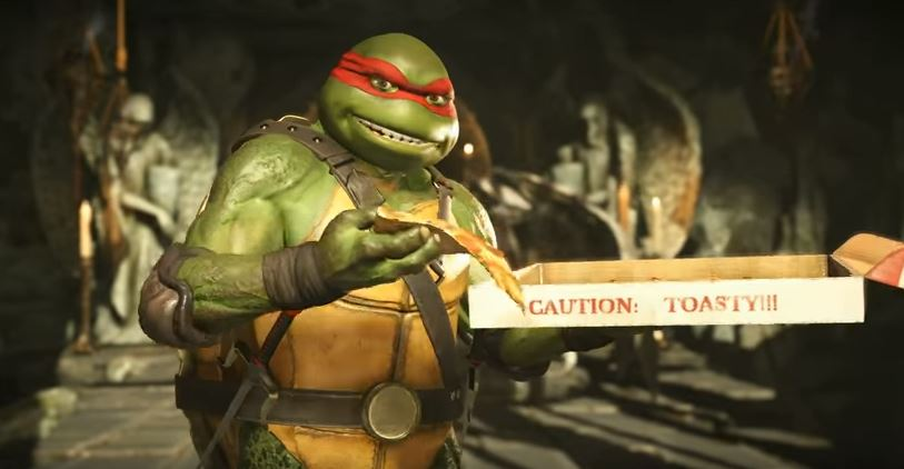 Injustice 2 Teenage Mutant Ninja Turtles Gameplay Trailer Shows Unique Fighting Styles