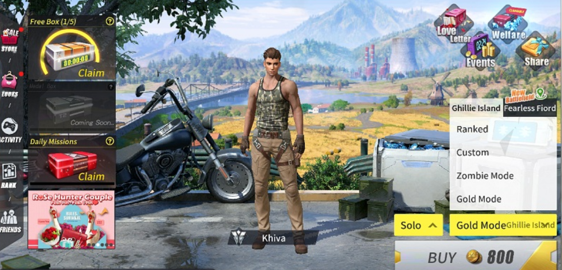 rules of survival cheat menu