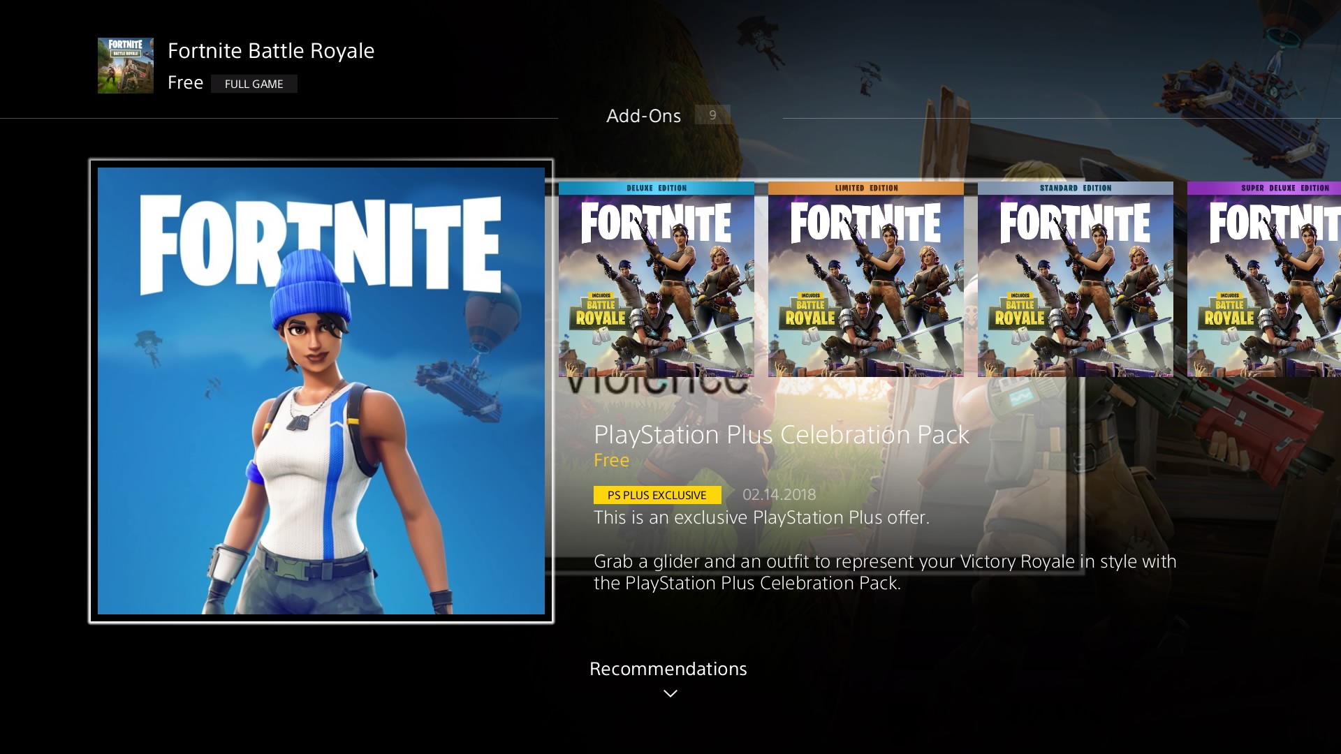 Fortnite Free PS Plus Celebration Skin Live On PS4 - How To Download