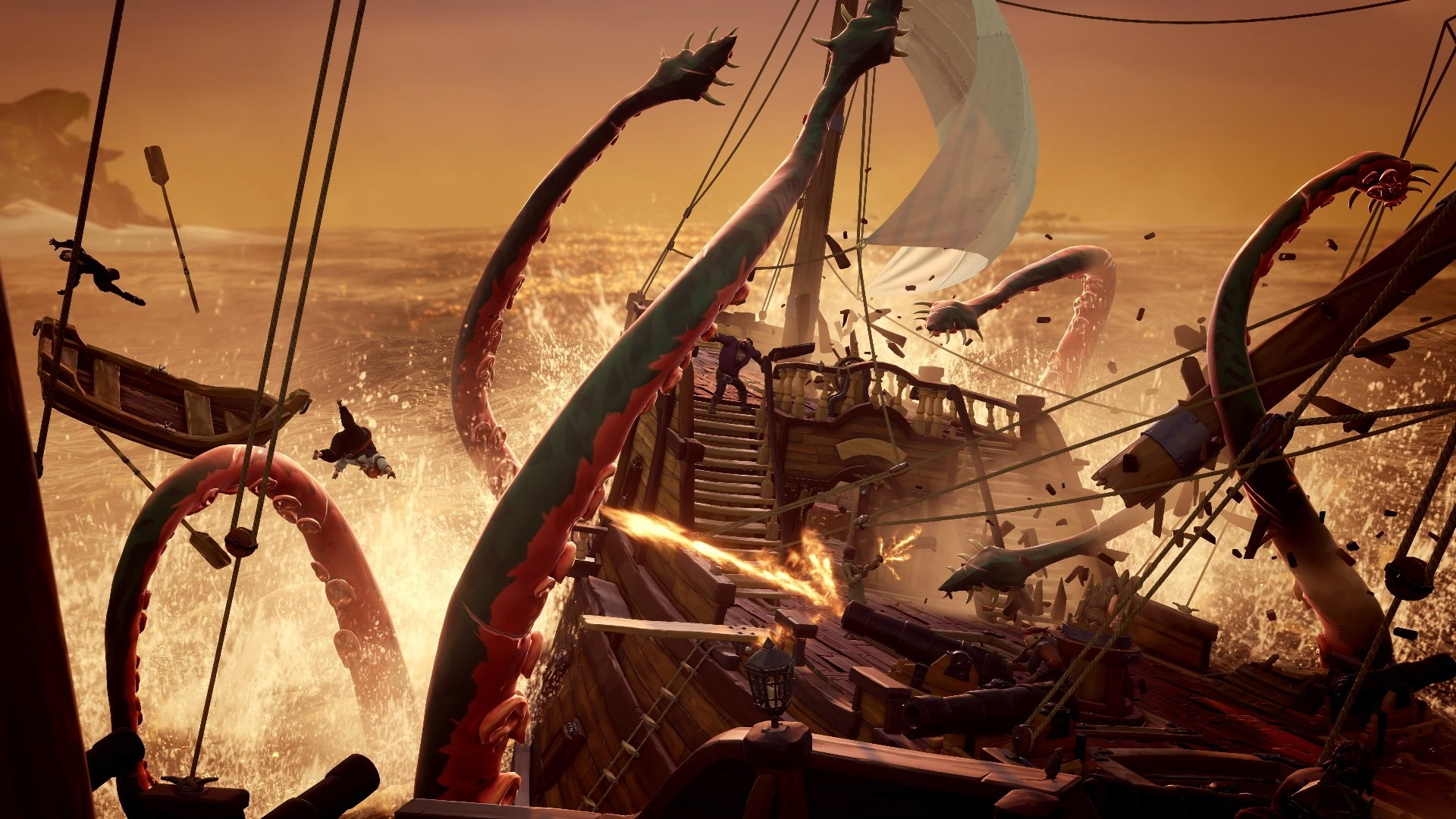 Sea Of Thieves Leak Unleashes The Kraken In New