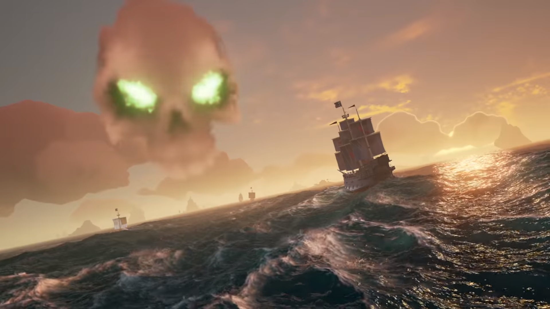 Sea Of Thieves Skull Forts Promise Great Loot Amp Intense