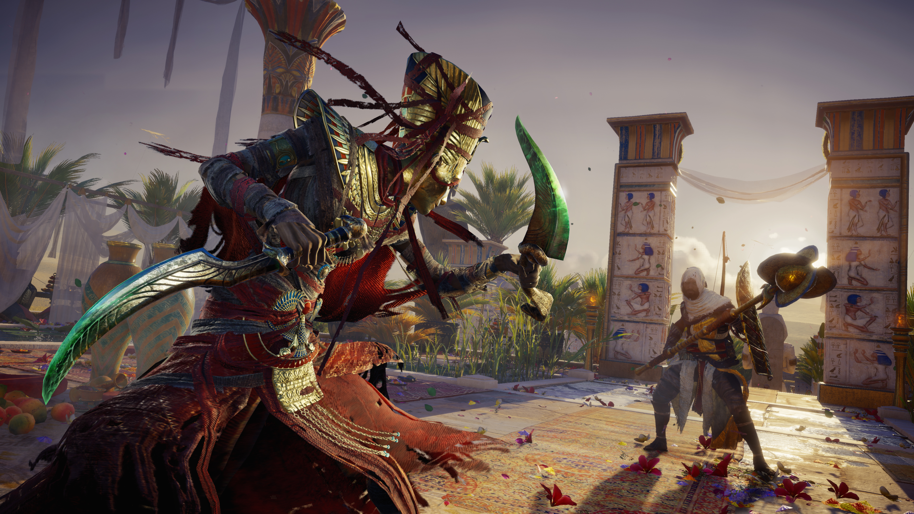 Assassin S Creed Origins Curse Of The Pharaohs Dlc Everything We