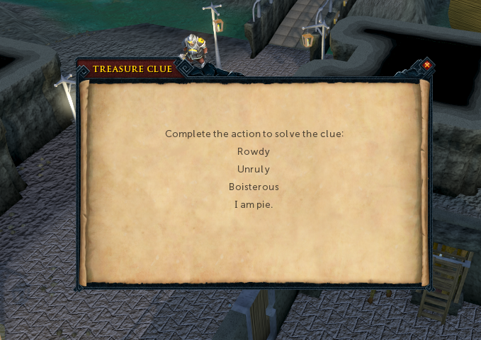 Runescape Master Clue Scroll Anagram & Action Solutions: Solve
