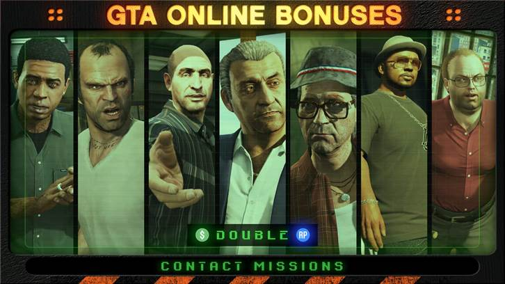 GTA Online Weekly Update: Play Contact Missions For Big