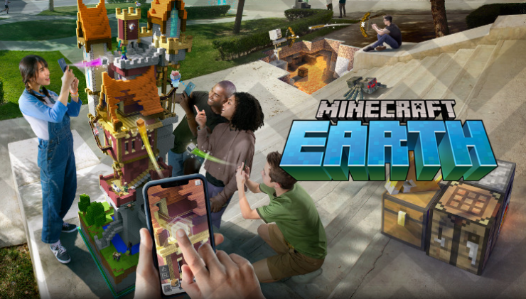 Microsoft Formally Announces Their Ar Title Minecraft Earth