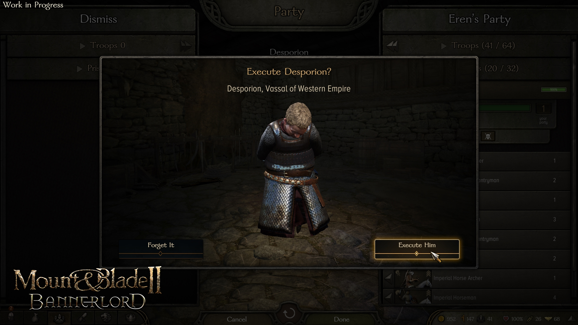 Mount And Blade 2 Bannerlord Developer Diary Executions And