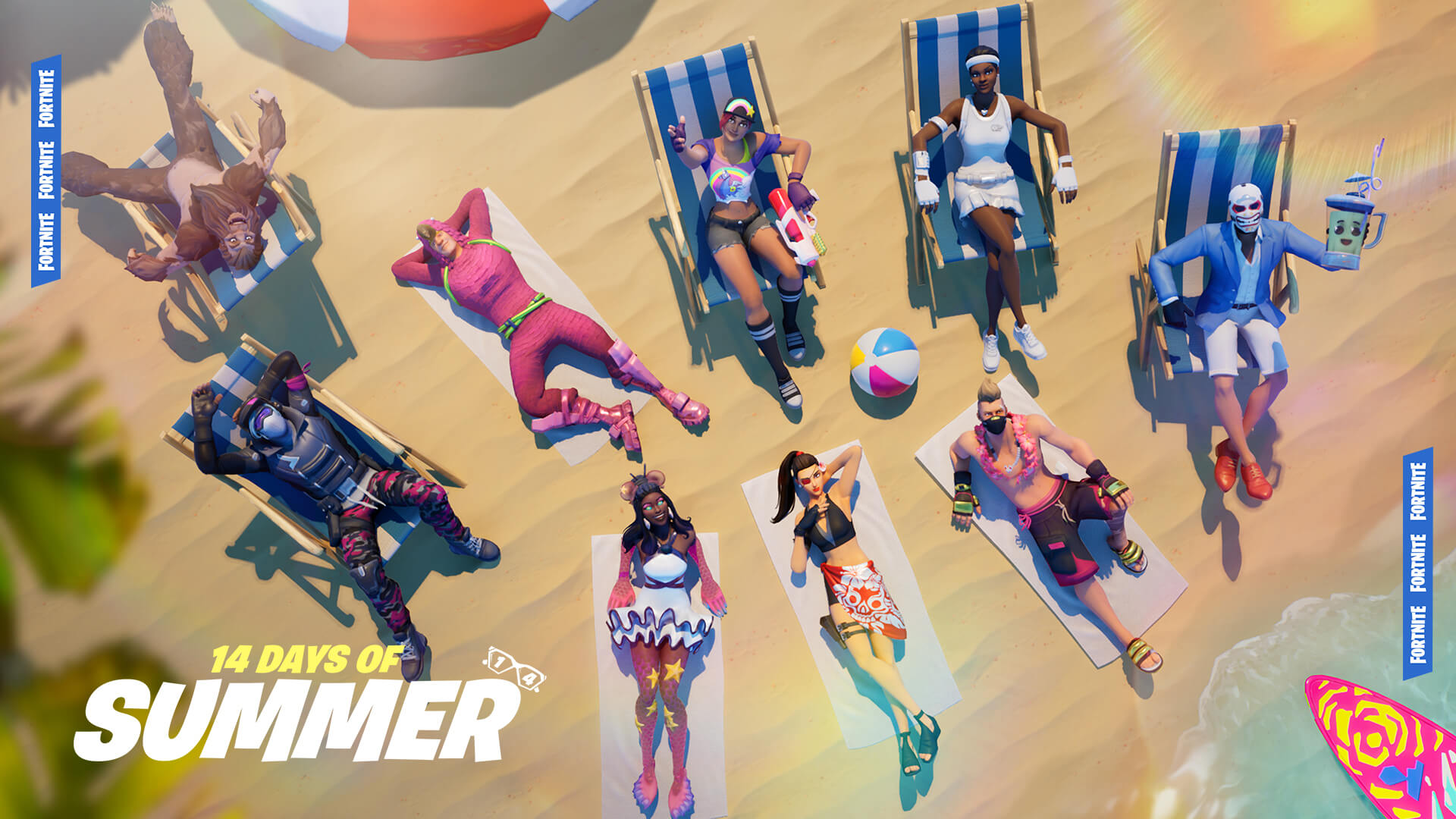 Fortnite Offers New LTMs Daily With 14 Days Of Summer