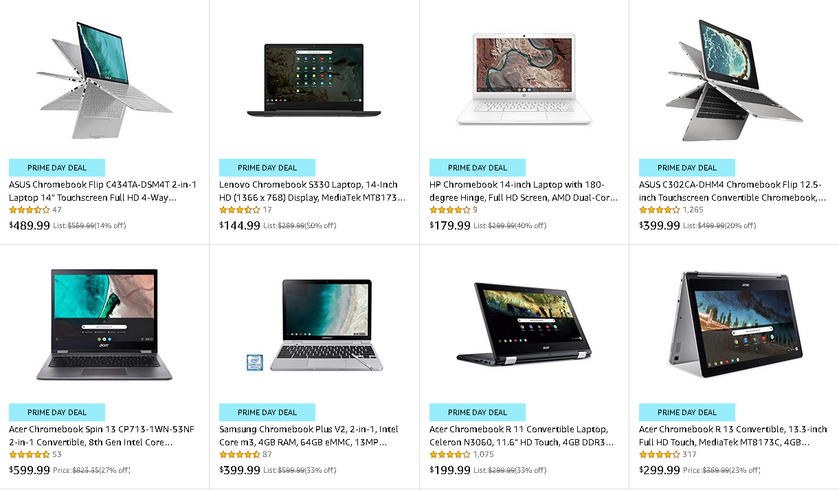 Amazon Prime Day: The 5 Best Chromebook Deals On Amazon | Player One