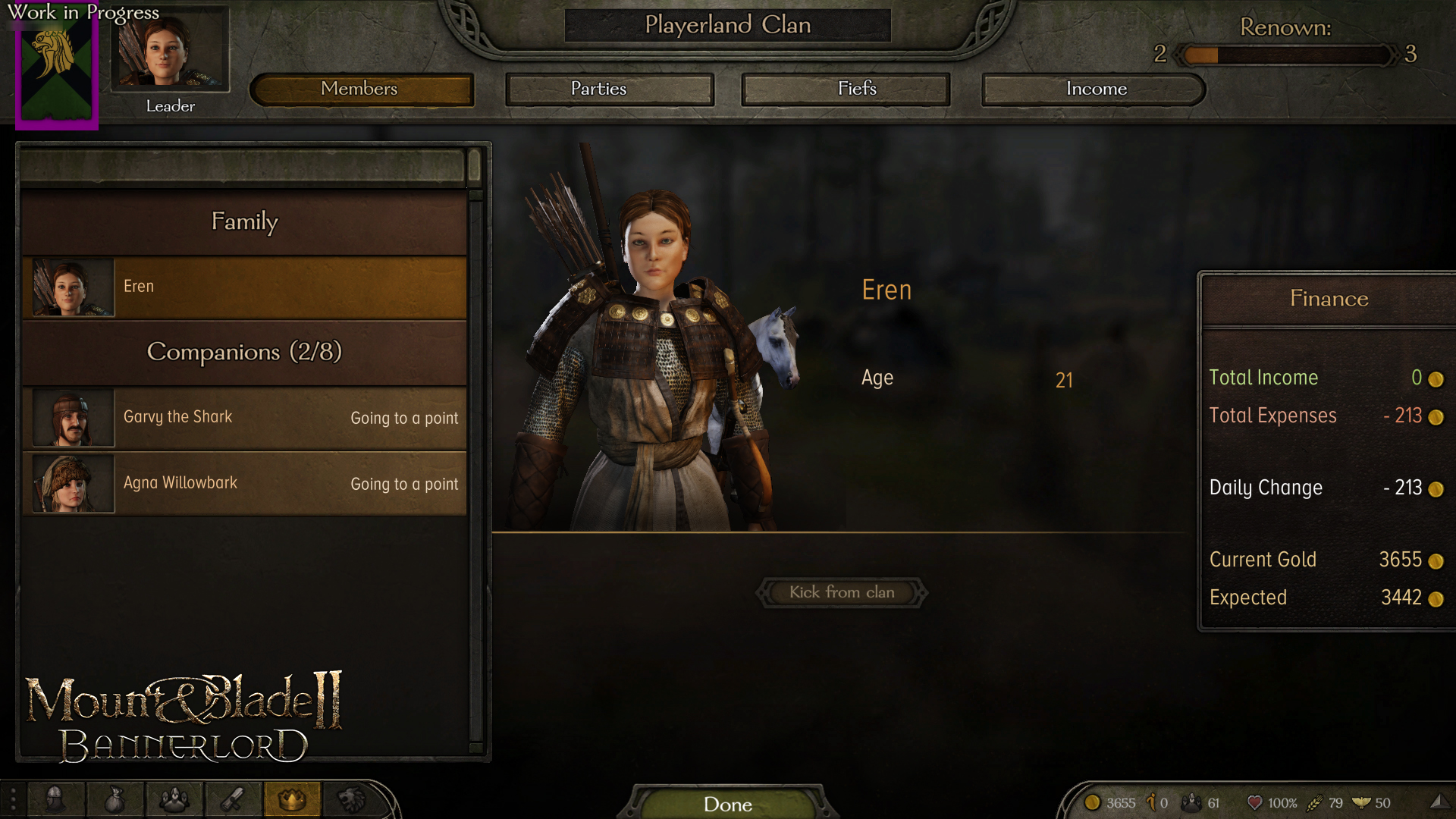 Mount And Blade 2 Bannerlord Developer Diary Big Changes Coming To The Renown System Player One