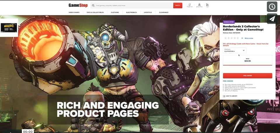 Gamestop Unveils Redesigned Website Labor Day Online Sale Detailed Player One