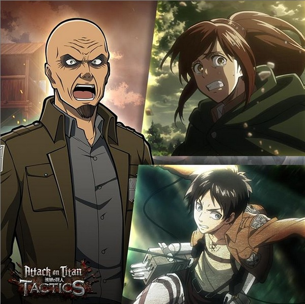 Ready Your Gear As Attack On Titan TACTICS Is Now