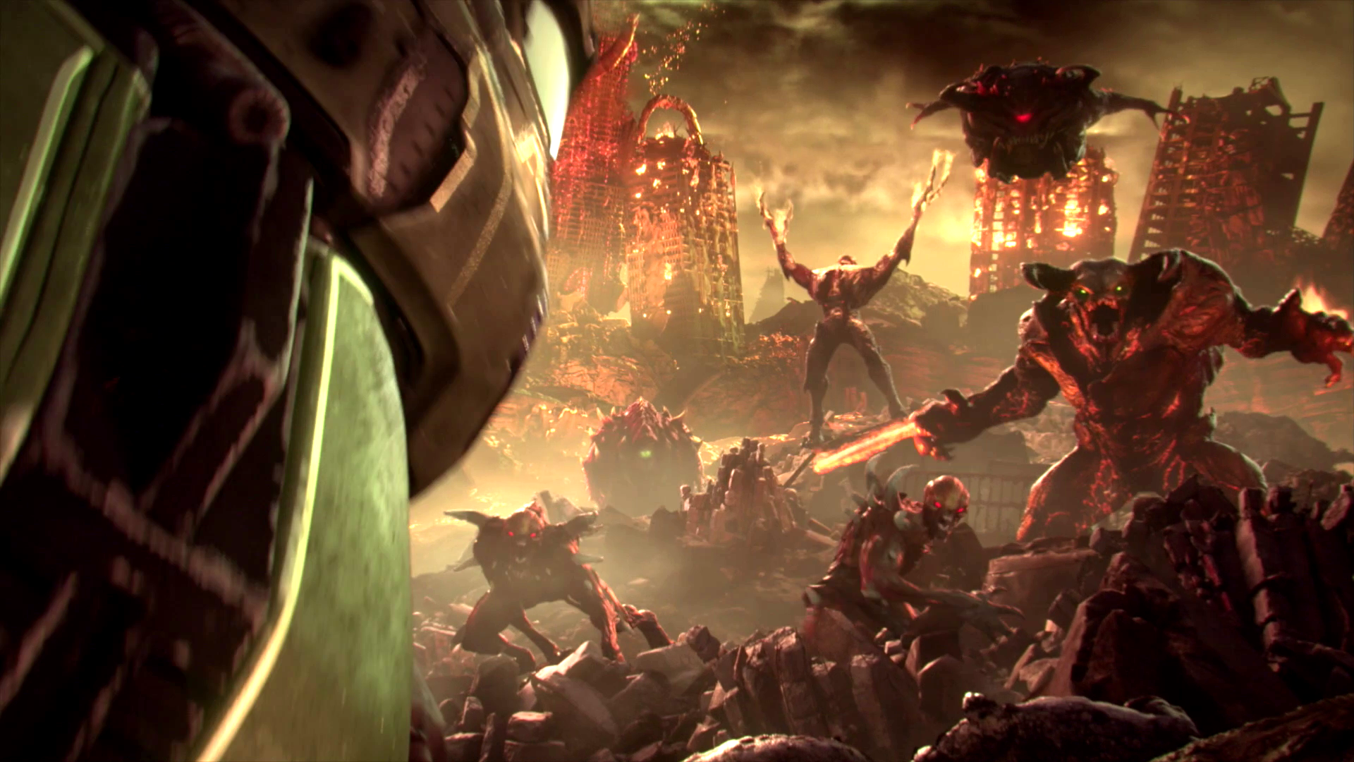 Doom Eternal Director Discusses New And Classic Demons Player One