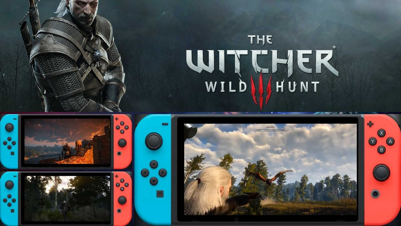 The Witcher 3 On Switch Gets Touch Controls And Pc Cross Save Support Player One