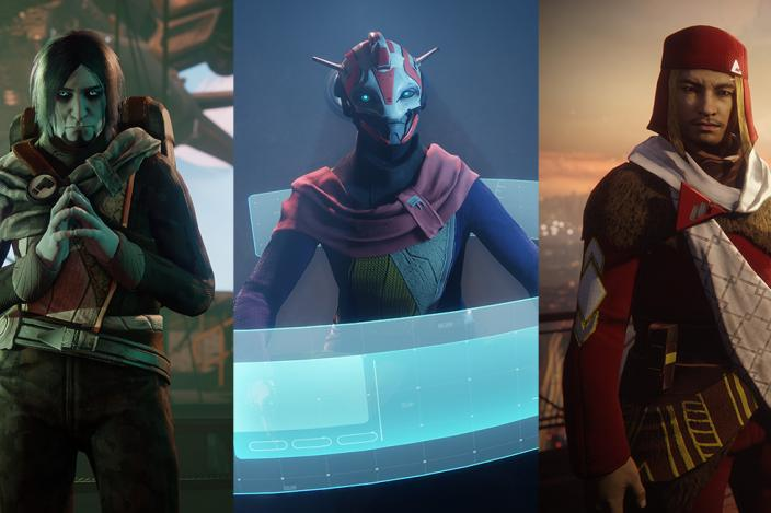 Destiny 2 - Faction Reps