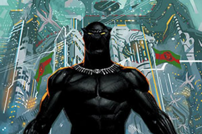 black panther 1 2018 cover