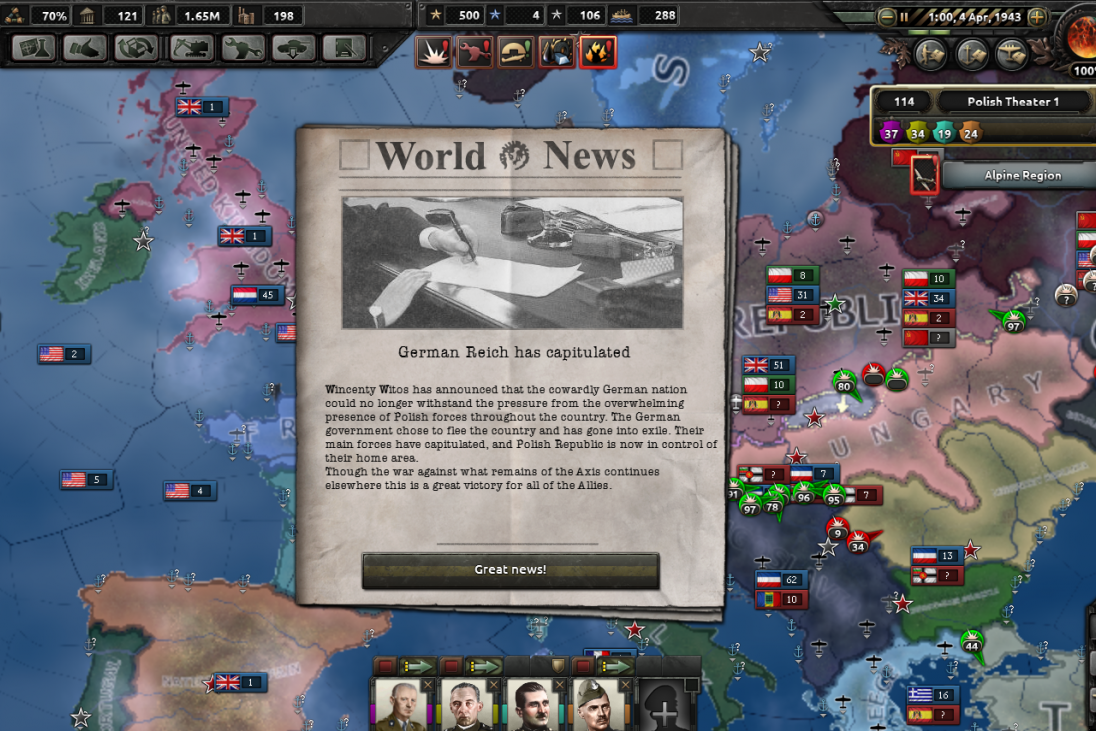 'Hearts of Iron 4:' What's The Point Of Playing As Poland ...
