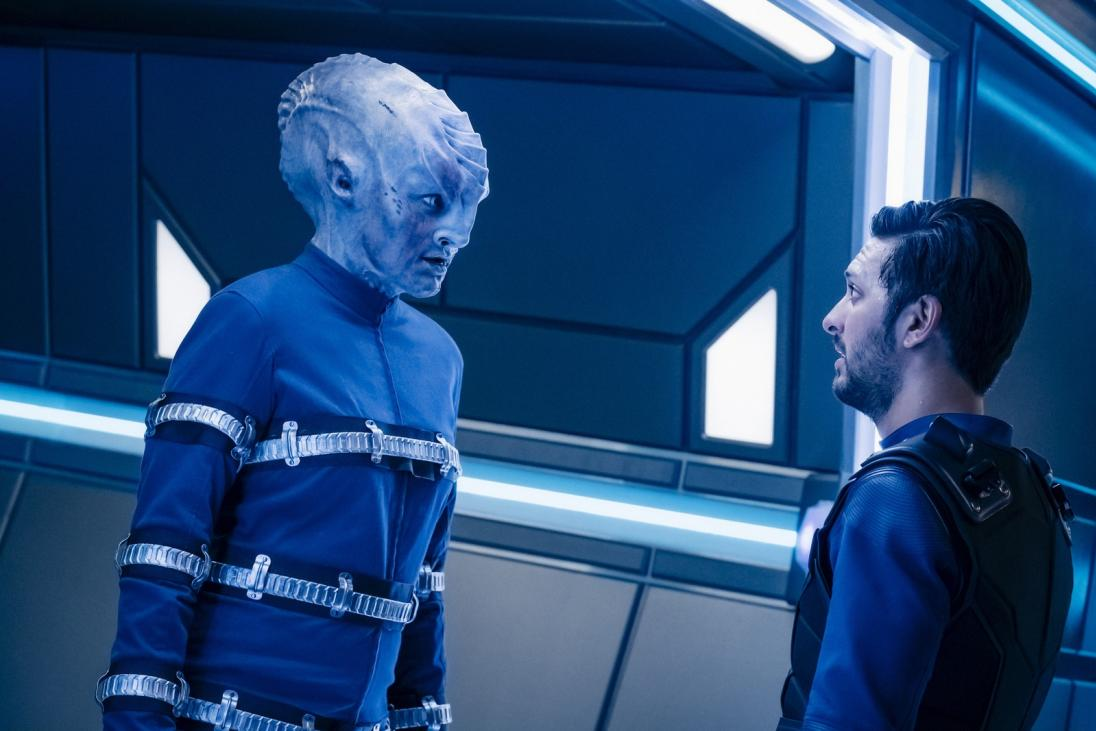 How Star Trek: Discovery\'s Shazad Latif Became Both Tyler And Voq ...