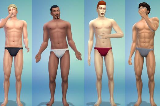 male undies sims 4