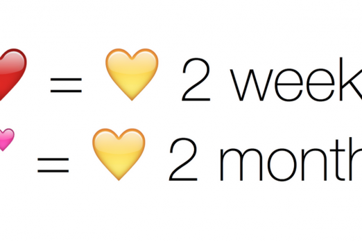 Yellow heart emoji definition
