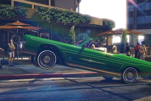 New Screenshots Of The Lowrider Update In GTA Online Rockstar