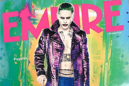 jared leto joker suicide squad empire cover