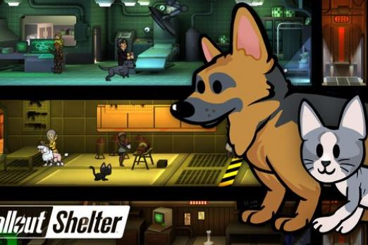 fallout pets New Fallout Shelter game Update 1.3 : Get Pets, Evict Slackers, Meet New Objectives Bethesda's Latest Update iOS Android