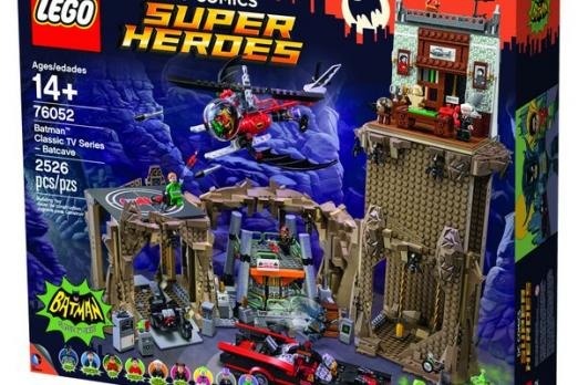 LEGO Releases Classic Batcave: Retro DC Comics Set Is Complete With ...