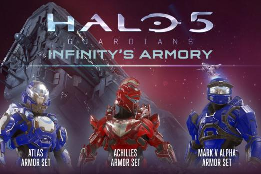 Halo 5' Multiplayer DLC: Infinity's Armory Brings New Weapons, Maps