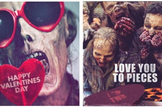 Hallmark The Walking Dead Cards