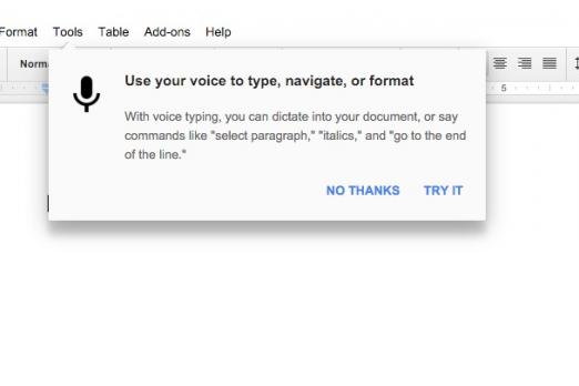 google docs voice typing commands list: how to enable and use the