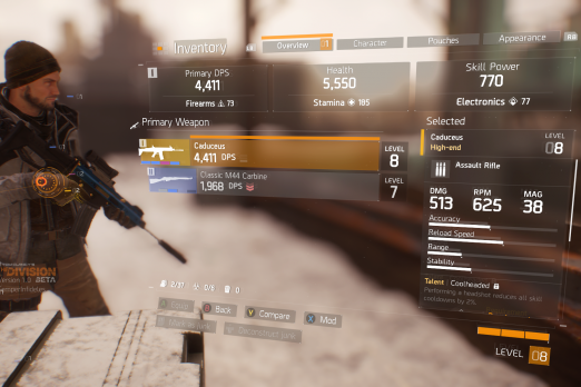 The division high end weapons guide and where to find caduceus the division caduceus malvernweather Image collections