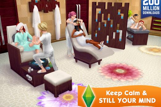 The Sims Freeplay Update Spa Day Brings Saunas Facials Mud Baths For Your Sims Photos Player One