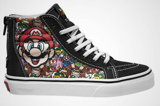 Nintendo Confirms Vans Sneaker Collaboration With Details Coming Soon Player One