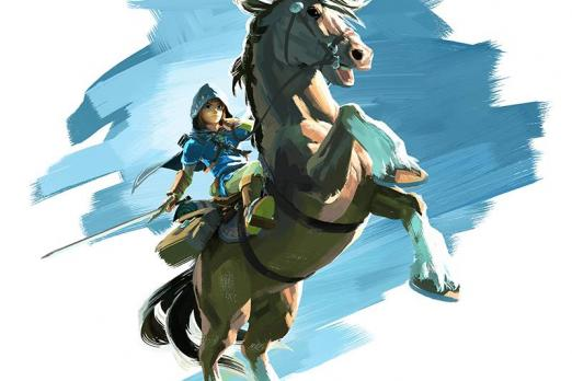 Legend Of Zelda Breath Of The Wild Holiday Art Shows Off