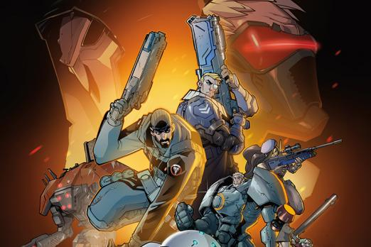 overwatch graphic novel art