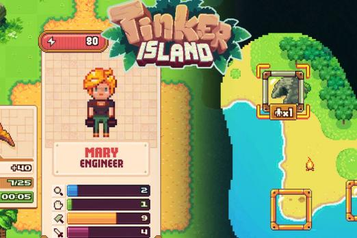 Tinker Island Adventure game ios android review