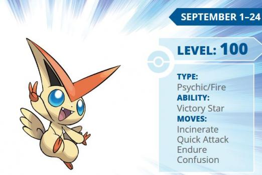 Pokémon Victini Event Distribution Begins In September How To Download Psychic Fire Type Player One