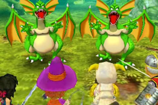 Dragon Quest VII: Fragments Of The Forgotten Past' Battle