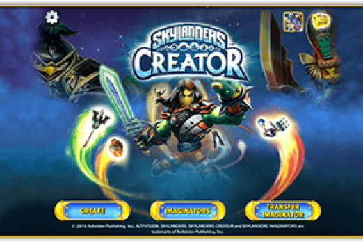 Skylanders Imaginators Allows Players To Create Their Own Figure - Design your own character games