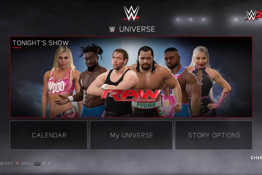 how to build my careers in wwf 16 playstation 4